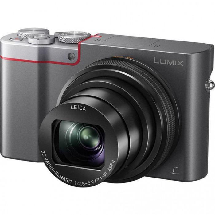 Цифровая Фотокамера Panasonic DMC-TZ100EES Silver