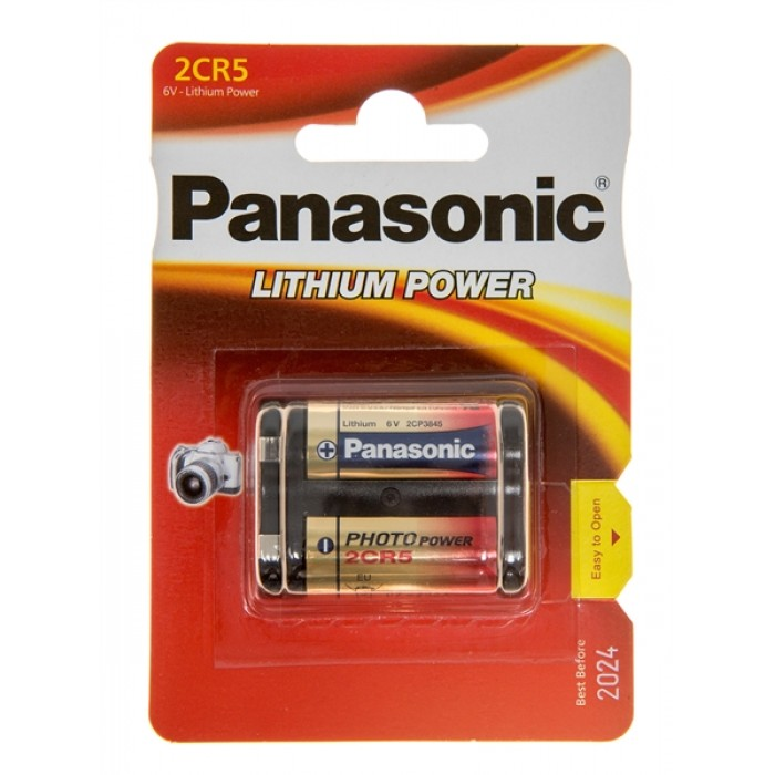 Батарейка Panasonic 2CR-5L/1BP