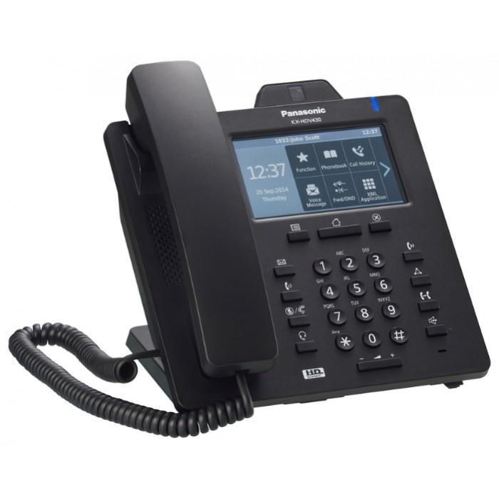 Проводной IP-видеотелефон Panasonic KX-HDV430RUB