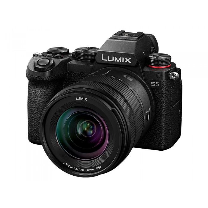 Цифровая Фотокамера Panasonic LUMIX S Panasonic DC-S5KEE-K Kit 20-60mm f/3.5-5.6