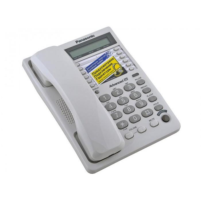 Проводной телефон Panasonic KX-TS2362UAW